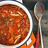 Chunky veg soup