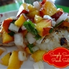 Favorite Food Topping: Simply Savory Peach Salsa