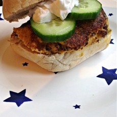 Spicy chickpea burgers with Greek yogurt - Slummy single mummy