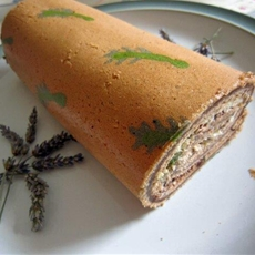 Lavender Chocolate Deco Roll