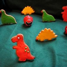 Comic Relief Dinosaur Biscuits Cookies