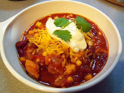 Weight Watchers Crock Pot Chicken Chili