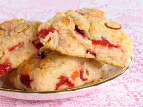 Cherry Almond Scones