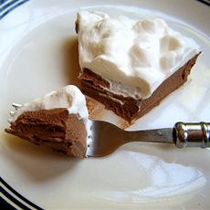 Healthy Low Carb Chocolate Pie