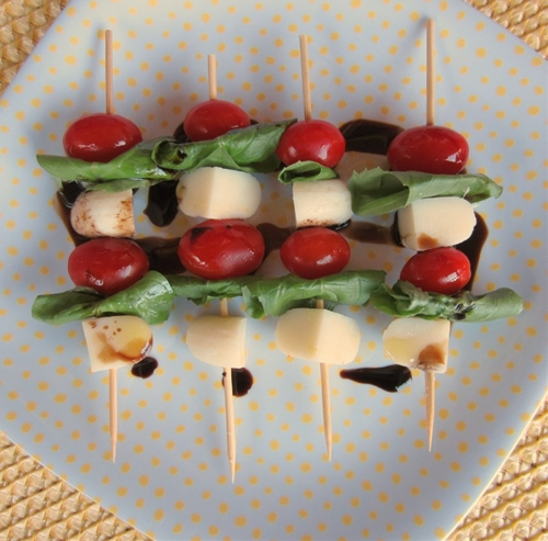 Babybel® Mozzarella Mini Caprese Skewers
