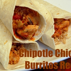 Chipotle Chicken Burritos