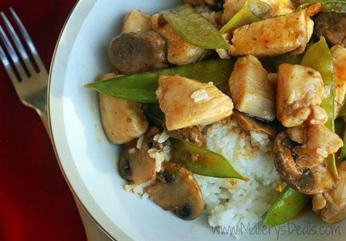 Thai Galangal Lemon Grass Chicken