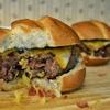 Pineapple and Bacon Stuffed Burger