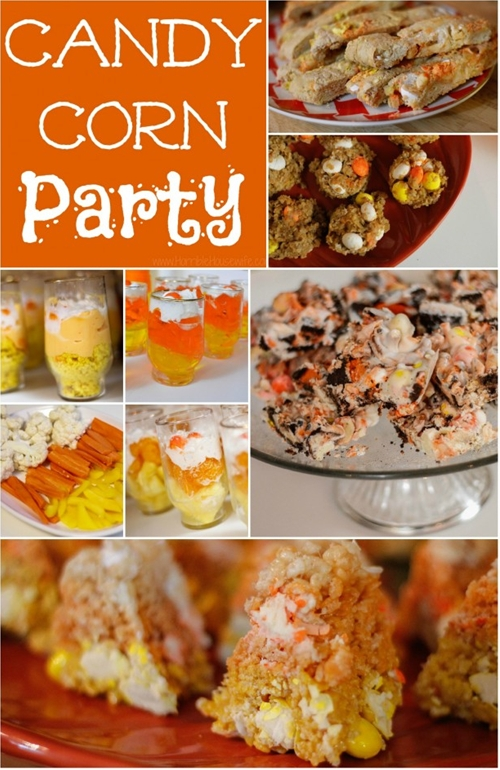 Candy Corn Party Food