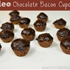 Paleo Chocolate Bacon Cupcakes