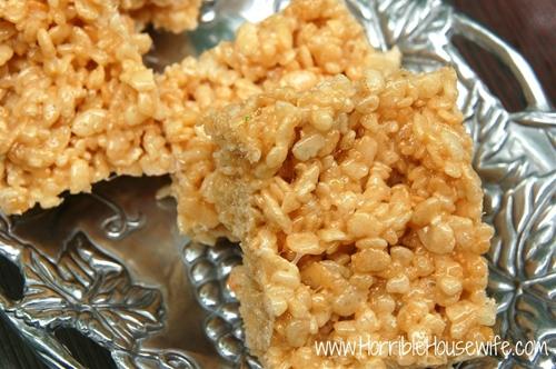 Funfetti Cake Batter Rice Krispies Treats
