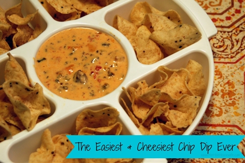 The Easiest and Cheesiest Chip Dip