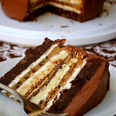 7 Layer S'more Cake