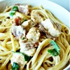 Chicken Carbonara with Spinach