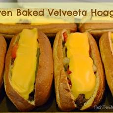 Oven Baked Velveeta Hoagies
