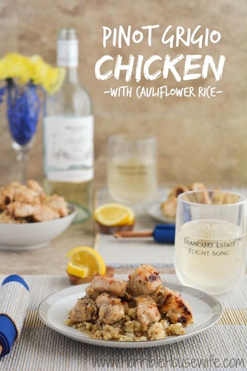 Pinot Grigio Chicken