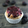 Greek yogurt berry muffins
