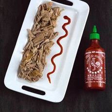 Slow cooker sriracha pork tenderloin