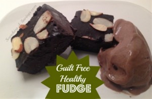 Guilt Free, Healthy Fudge
