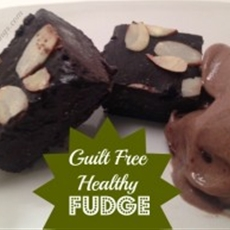 Guilt Free, Healthy Fudge