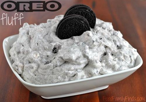 White Chocolate OREO Fluff Dessert