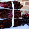 Paleo Dark Chocolate Cherry Brownies