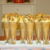 Halloween Popcorn Ball Ice Cream Cones
