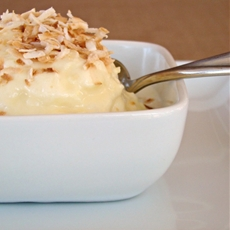 Pineapple Coconut Ice Cream Recipe