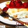Shaun's baked cherry cheesecake