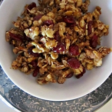 Chili and sweet trail mix treat