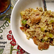 Apple sausage quinoa