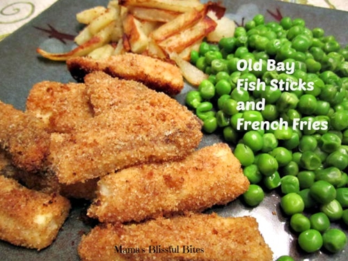 Old Bay Fish and French Fries