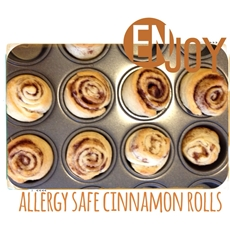 Dairy and Peanut Free Cinnamon Breakfast Rolls | ABC Creative Learning