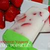 Strawberry Yogurt Creamy Popsicles