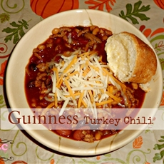 Guinness Turkey Chili