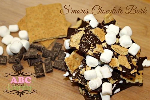 S'mores Chocolate Bark-Allergy Safe