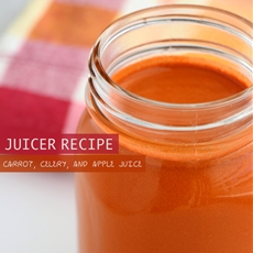 Carrot, Celery, and Apple Juice