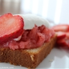 Strawberry Cream Pound Cake Delight