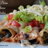 Black Bean & Cheese Enchiladas