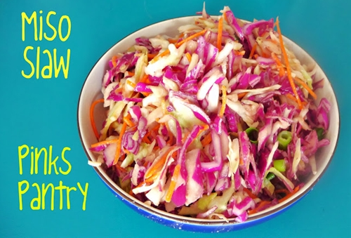 Miso Slaw recipe | Chefthisup