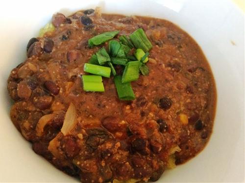 Soy & Black Bean Soup