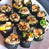 Pineapple Mushroom Sushi
