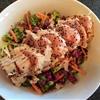 Ahi Tuna Salad with Miso Slaw