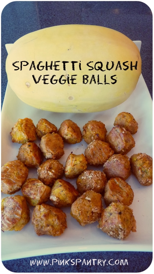 Spaghetti Squash Veggie Balls
