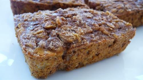 mini peanut butter banana loaf ~ pinks pantry