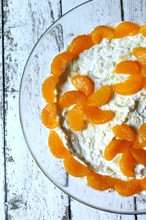 Citrus Sunshine Trifle