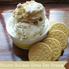 No Churn Golden Oreo Ice Cream