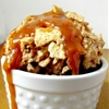 "Cinnamon Caramel ""Fried"" Ice Cream"
