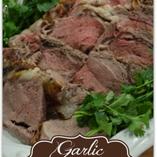 Garlic Rib-eye Roast