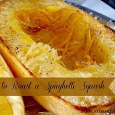 How to Roast a Spaghetti Squash